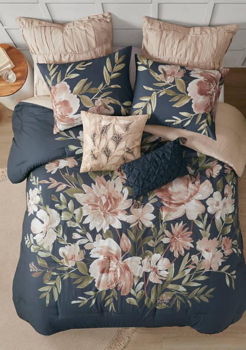 Madison Park Camillia 8 Piece Cotton Comforter Set