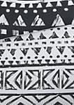 Larisa 7 Piece Cotton Reversible Duvet Cover Set