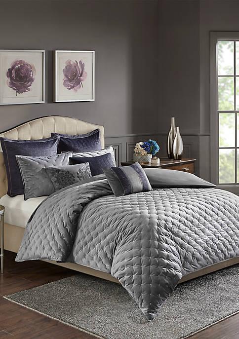 Sophisticate Velvet Comforter Set