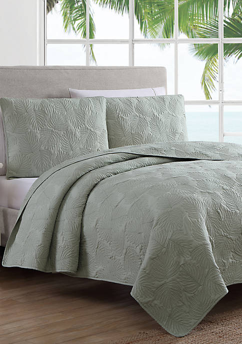 Estate Leaf Stitch Quilt Set