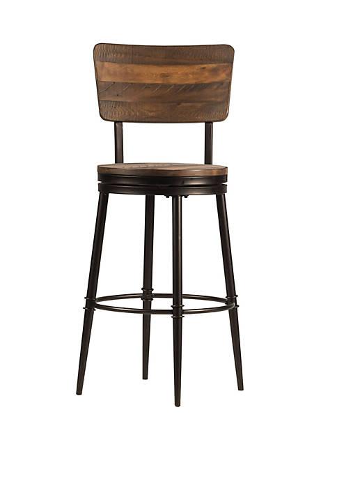 Hillsdale Furniture Jennings Swivel Bar Height Stool