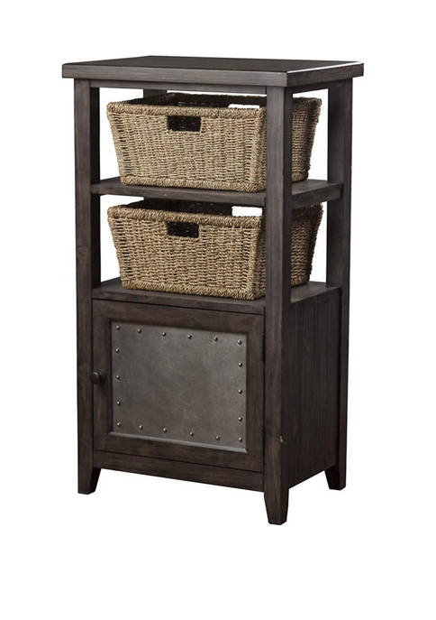 Hillsdale Furniture Tuscan Retreat® Basket Stand with 2