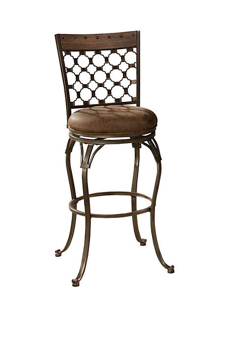 Hillsdale Furniture Lannis Swivel Bar Height Stool