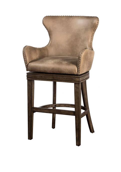 Hillsdale Furniture Caydena Memory Return Swivel Stool Multiple