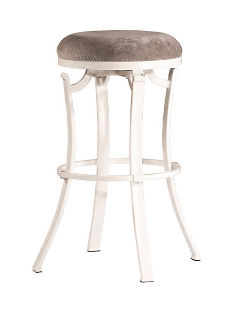 Hillsdale Furniture Kelford Swivel Backless Counter Height Stool,