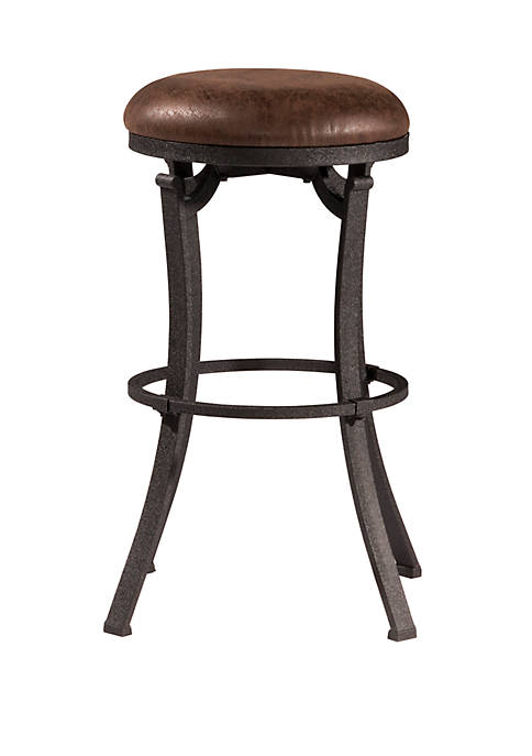 Hillsdale Furniture Kelford Swivel Backless Bar Height Stool,