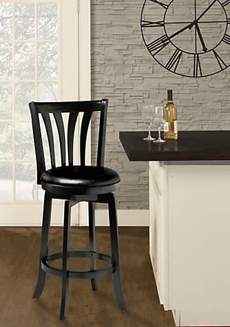 Groovy Savana Swivel Bar Height Stool Black With Copper Accent Creativecarmelina Interior Chair Design Creativecarmelinacom