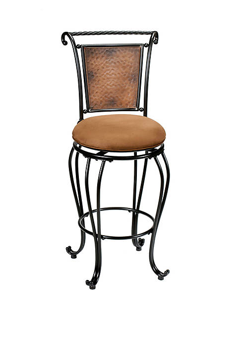 Hillsdale Furniture Milan Swivel Counter Height Stool,
