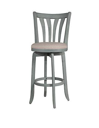 Prime Savana Swivel Counter Height Stool Blue Wirebrush Wood Finish Creativecarmelina Interior Chair Design Creativecarmelinacom