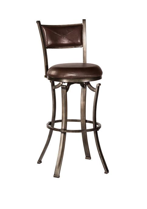 Hillsdale Furniture Drummond Swivel Stool Multiple Sizes