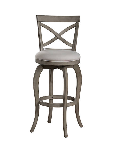 Hillsdale Furniture Ellendale Swivel Counter Height Stool, Aged