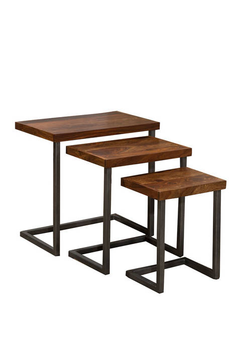 Hillsdale Furniture Emerson Nesting Tables, Set of 3