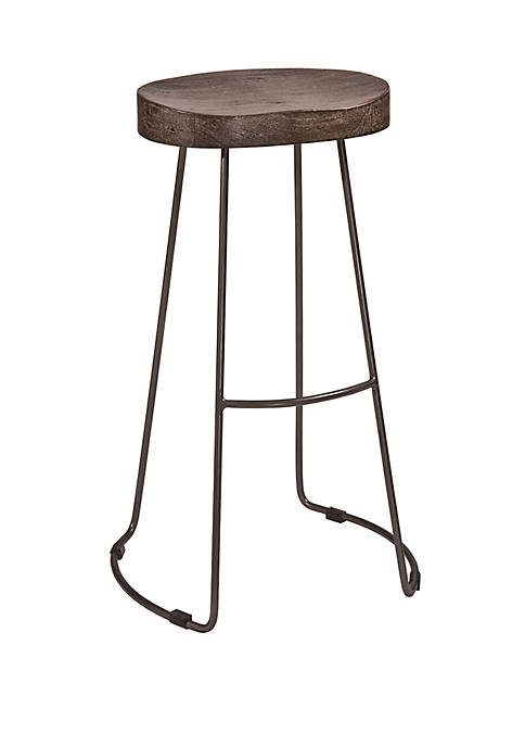 Hillsdale Furniture Hobbs Tractor Non-Swivel Counter Height Stool