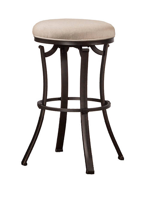 Hillsdale Furniture Bryce Indoor Outdoor Backless Swivel Counter