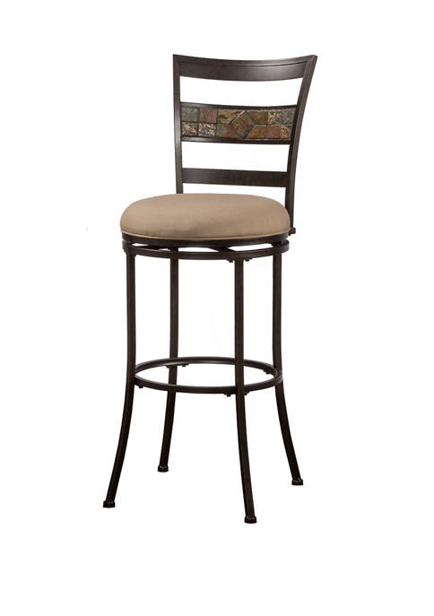 Hillsdale Furniture Indoor and Outdoor Henning Swivel Stool