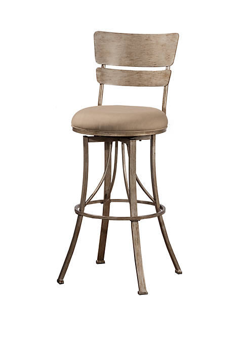 Hillsdale Furniture Wakefield Indoor Outdoor Swivel Counter Stool