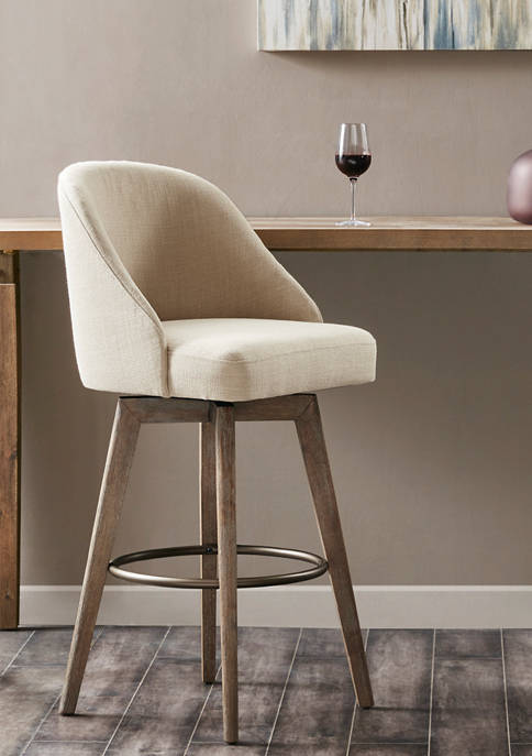 Madison Park Pearce Bar Stool and Swivel Seat