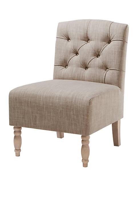 Madison Park Lola Tufted Armless Chair