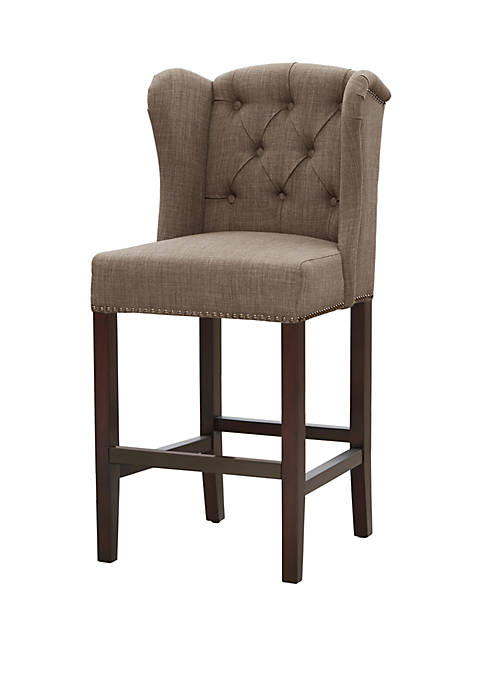 Jodi Tufted Wing Counter Stool