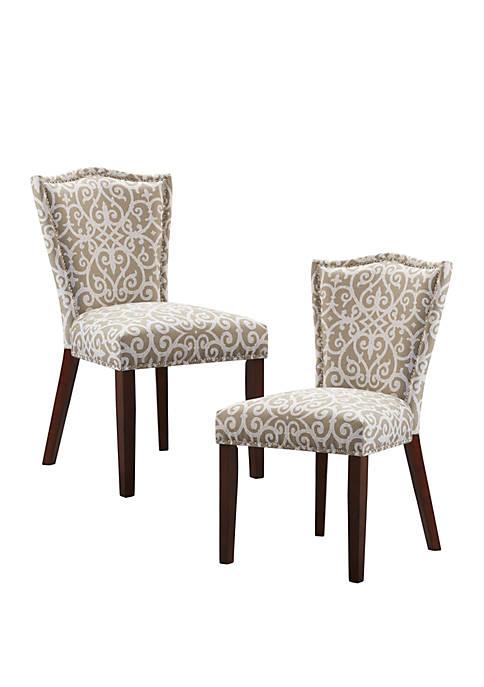 Madison Park Nate Dining Chair Set