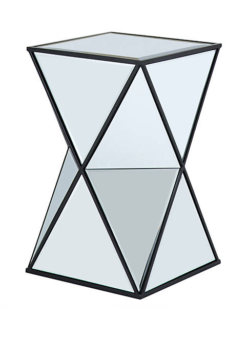 Madison Park Hendrix Angular Mirror Accent Table