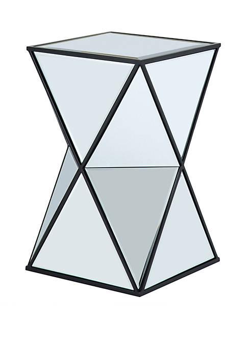 Hendrix Angular Mirror Accent Table