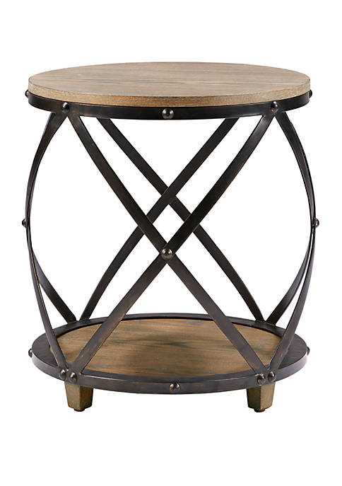 Madison Park Cirque Bent Metal Accent Table