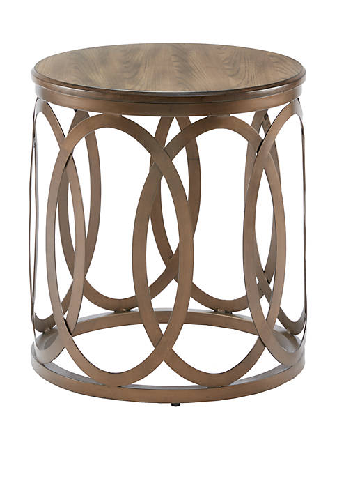 Madison Park Fraser Round End Table