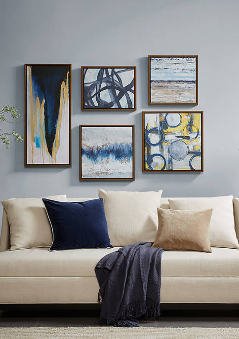Bliss Gallery Art 5 Piece Set
