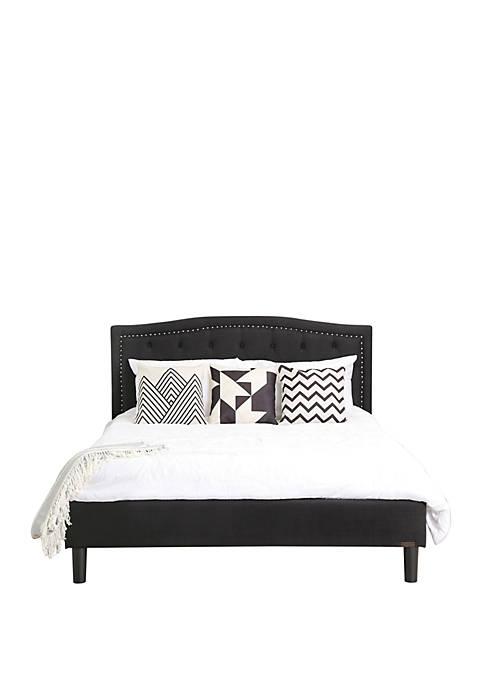 Abbyson Katarina Tufted Upholstered Bed