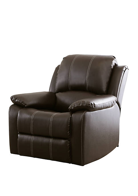 Abbyson Marin Leather Recliner
