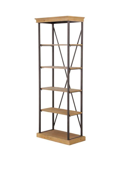 Abbyson Dutch Industrial Bookcase