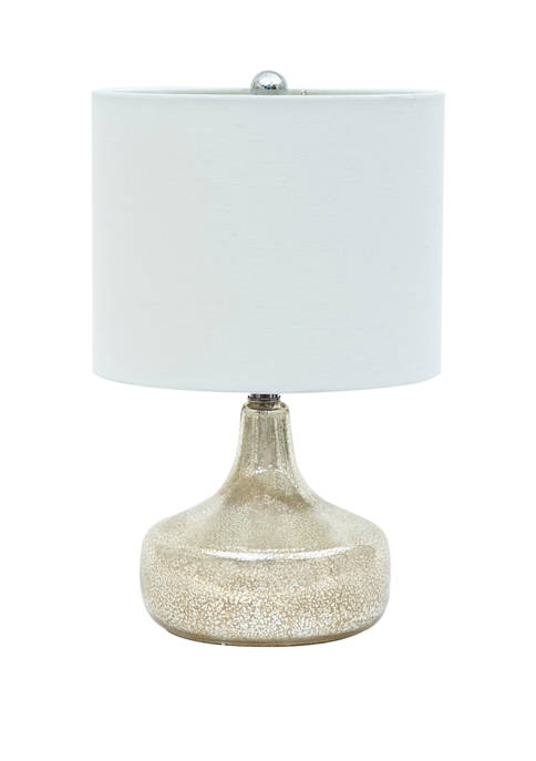 Abbyson Yolanda Mercury Gourd Table Lamp