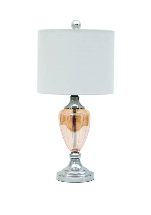 Abbyson Welby Glass Table Lamp