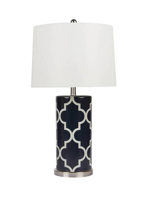 Madison Lattice Table Lamp