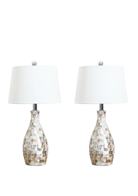 Abbyson Mother of Pearl Table Lamp
