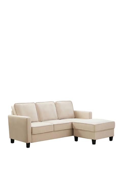 Abbyson Kinsley Sofa and Ottoman Set