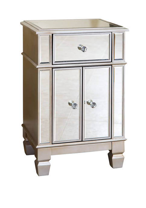 Abbyson Sophie Mirrored Accent Table