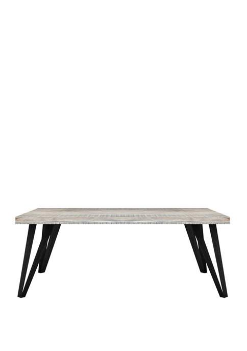 Abbyson Brianna Wood Coffee Table