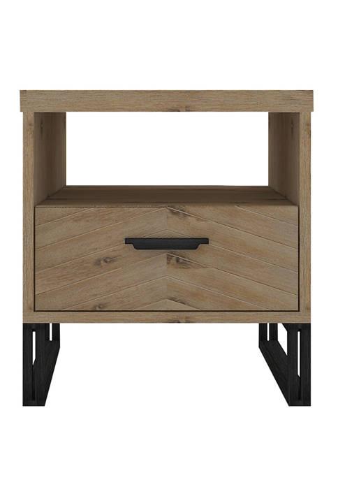 Abbyson Montana Wood End Table