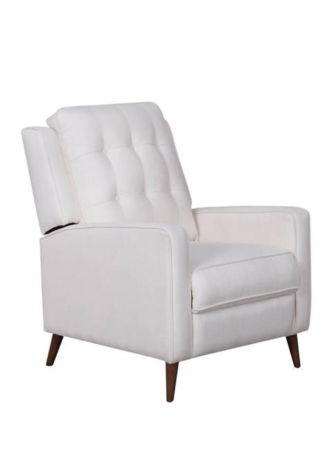 Abbyson Indio Mid Century Pushback Recliner Chair