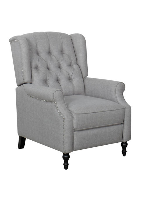 Abbyson Abe Wingback Pushback Recliner Chair