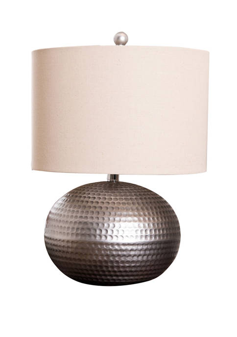 Abbyson Hammered Finish Table Lamp