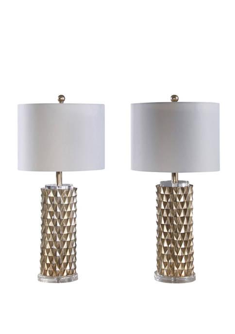Abbyson Francesco Textured Table Lamp