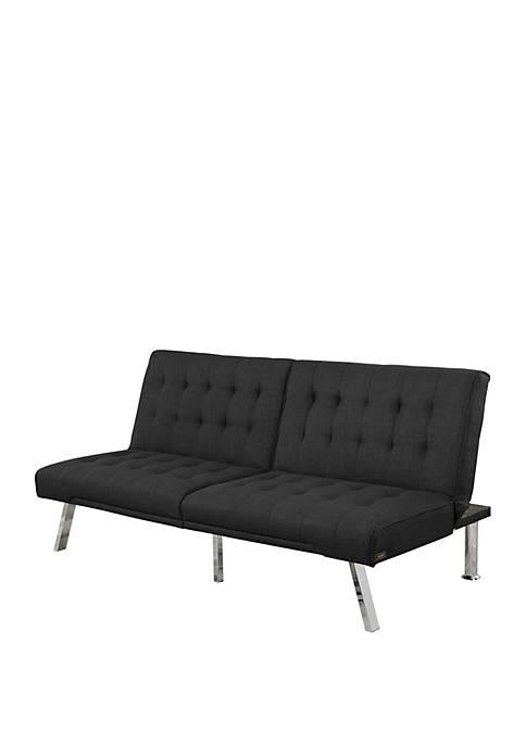 Abbyson Milo Fabric Futon Sofa Bed