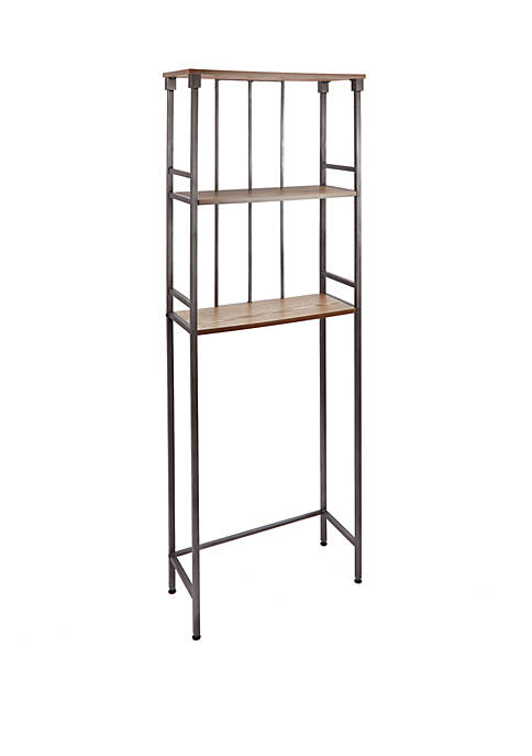Silverwood Mixed Material Bathroom Collection 3 Tier Space