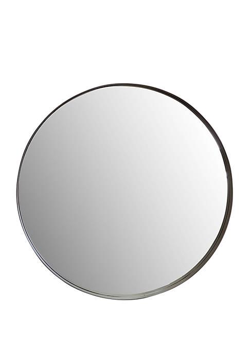 Silverwood Eagan Round Metal Wall Mirror