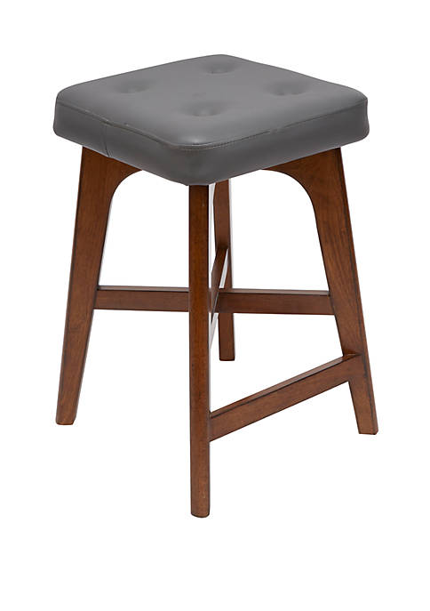 Silverwood Beacon Modern Wood 24 Inch Barstool with