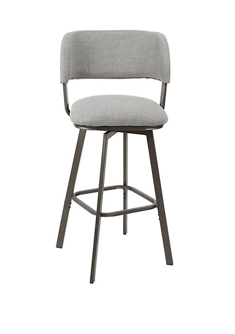 Silverwood Adler Adjustable Swivel Barstool with Open Wrap