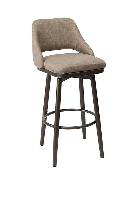 Silverwood Ari Adjustable Height Upholstered Barstool